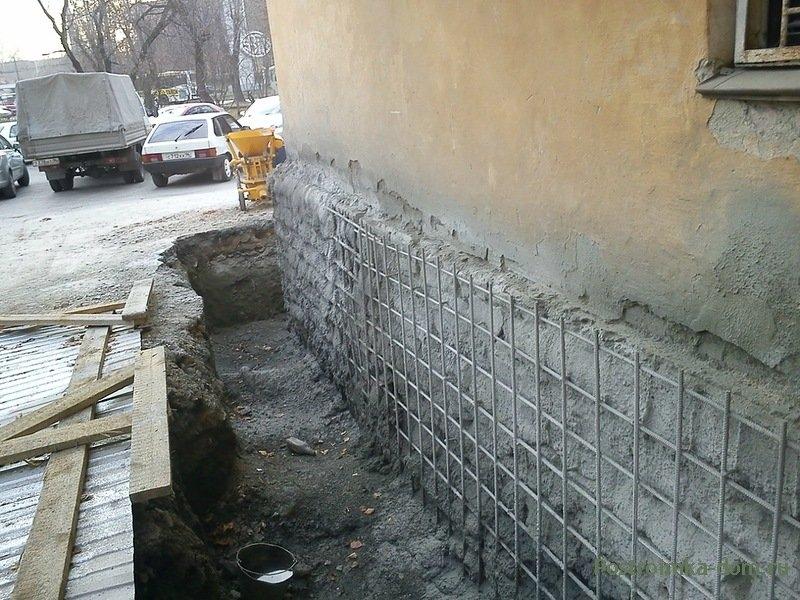 Как укрепить фундамент дома. Способы усиления фундамента