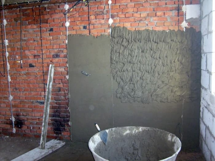известково цементный раствор для штукатурки купить