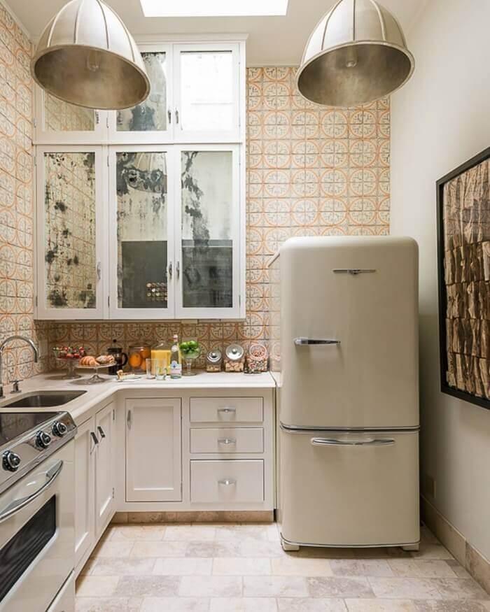 стиль лофт на маленькой кухне